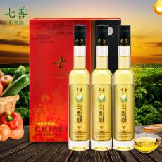 维尊三高食疗油230ML×3瓶礼盒装 专利产品有机认证