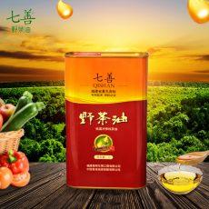 铁罐三高专利茶油1000ML*1罐/礼盒装,专利产品有机认证